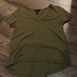 Size small army green shirt
